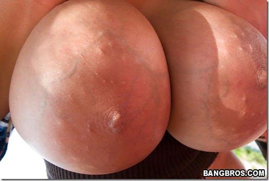 big tit closeup